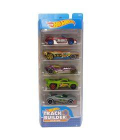 Carrinhos-Hot-Wheels---Pacote-com-5-Carros---Track-Builder-2018---Mattel