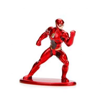 Figura-Colecionavel---4-Cm---Metals-Nano-Figures---DC-Comics---Flash---DTC
