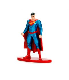 Figura-Colecionavel---4-Cm---Metals-Nano-Figures---DC-Comics---Superman---DTC