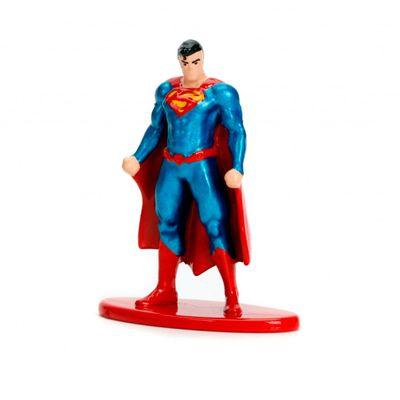Figura-Colecionavel---4-Cm---Metals-Nano-Figures---DC-Comics---Superman---DTC