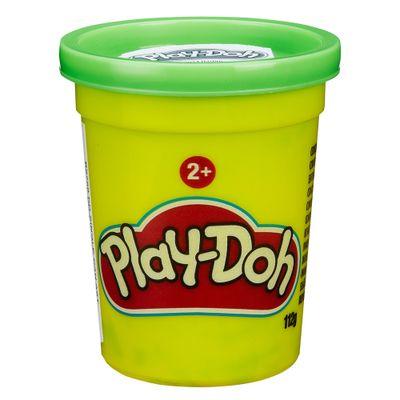Massa-de-Modelar---Play-Doh---Potes-Individuais-110-grs---Verde-Escuro---Hasbro