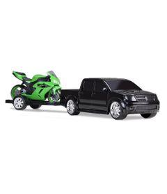 Pick-Up-Vision-Racing-com-Moto---Preto-e-Verde---Roma-Jensen