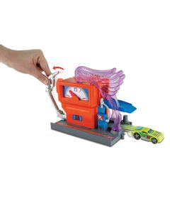 Pista-Hot-Wheels---City-Downtown---Fire-Station-Spinout---Mattel