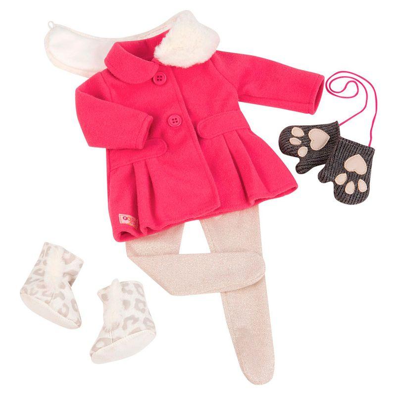 92adceab7 Acessórios para Boneca - Our Generation - Roupa de Inverno Rosa - Candide - Ri  Happy Brinquedos