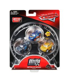 Blister-com-3-Veiculos-Mini-Racers-Disney-Cars---Pack-1---Mattel