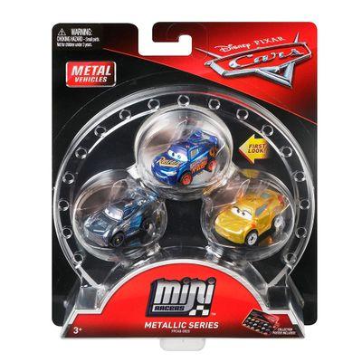 Blister-com-3-Veiculos-Mini-Racers-Disney-Cars---Pack-1---Mattel
