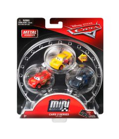 Blister-com-3-Veiculos-Mini-Racers-Disney-Cars---Pack-2---Mattel