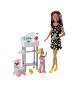 Boneca-Barbie---Skipper-Babysister---Banheira-e-Bebe---Mattel