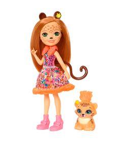 Boneca-Fashion-e-Animal---Enchantimals---Cherish-Cheetah-e-Quick-Quick---Mattel