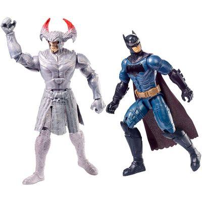 Conjunto-Figuras-de-Acao---DC-Comics---Liga-da-Justica---Batman-e-Lobo-da-Estepe---Mattel