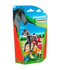Playmobil---Soft-Bags-Cavalos---Cavalo-Preto---9261---Sunny