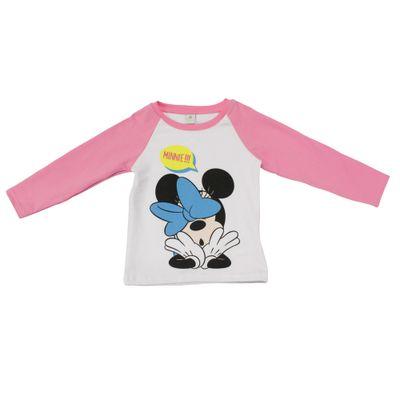 Blusa-Manga-Longa---Branca-e-Rosa---Revolution-Minnie---Disney---1