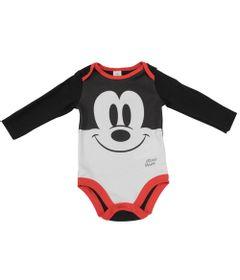 Body-Manga-Longa---Preto-Branco-e-Vermelho---Fantasia-Mickey---Disney---P