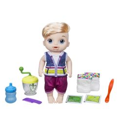 Boneco---Baby-Alive---Papinha-Divertida---Loiro---E0635---Hasbro