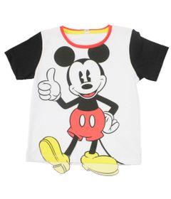 Camiseta-Manga-Curta---Branca-Preta-e-Vermelha---Fantasia-Mickey---Disney---1