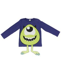 Camiseta-Manga-Curta-em-Meia-Malha---Azul-Royal---Fantasia-Mickey---Disney---1