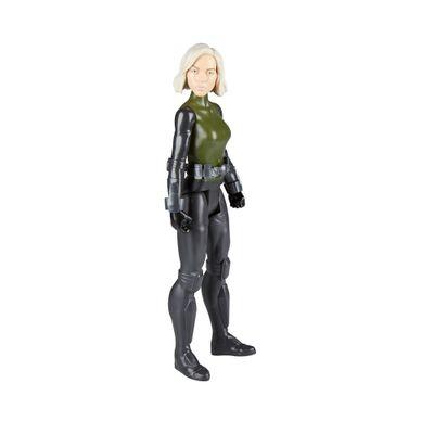 Figura-de-Acao---30-Cm---Disney---Marvel---Serie-Titan-Hero---Viuva-Negra---Avengers---Hasbro