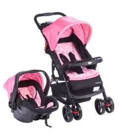 Travel-System---Moove---Rosa-Trama---Cosco