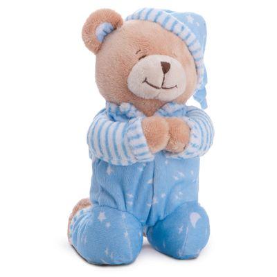 Pelucia-24-Cm---Ursinho-Rezando---Azul
