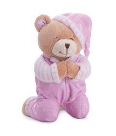 Pelucia-24-Cm---Ursinho-Rezando---Rosa