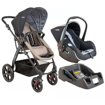 Travel-System-Galaxy-com-Base---Preto-e-Capuccino---Kiddo