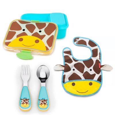 Kit-Hora-de-Papar-Zoo---Girafa---Skip-Hop