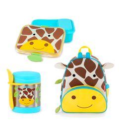 Kit-Hora-do-Lanche-com-Mochila-Zoo---Girafa---Skip-Hop