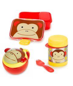 Kit-Hora-do-Lanchinho-Zoo---Macaco---Skip-Hop