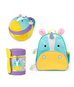 Kit-Hora-do-Lanche-com-Mochila-Zoo---Unicornio---Skip-Hop
