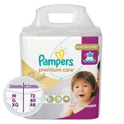 Fraldas-Descartaveis-Premium-Care-Hiper---Pampers