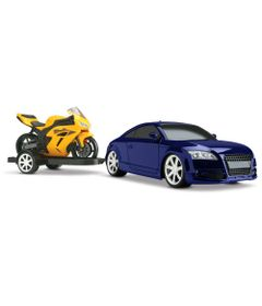Carro-GT-R-Concept-Racing-com-Moto---Azul-e-Amarelo---Roma-Jensen