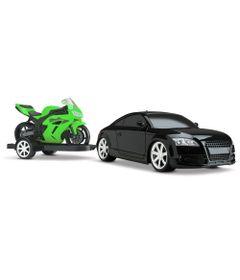 Carro-GT-R-Concept-Racing-com-Moto---Preto-e-Verde---Roma-Jensen