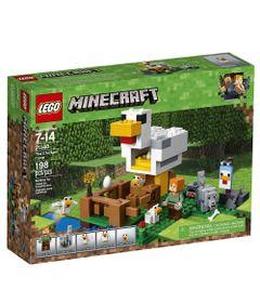 LEGO-Minecraft---O-Galinheiro---21140
