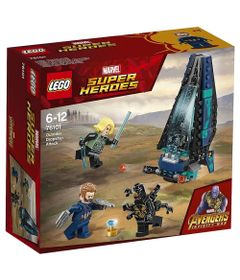 LEGO-Super-Heroes---Disney---Marvel---Avengers---Infinite-War---Ataque-Cargueiro---76101