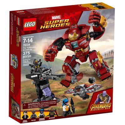 LEGO-Super-Heroes---Disney---Marvel---Avengers---Infinite-War---Ataque-Destruidor-Hulkbuster---76104