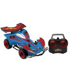 Carrinho-de-Controle-Remoto---Azul---Web-Racer---Disney---Marvel---Spider-Man---Candide