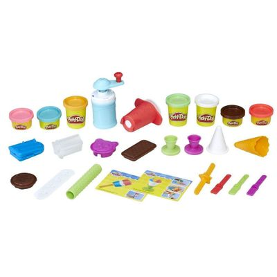Conjunto-de-Massa-de-Modelar---Play-Doh---Delicias-Geladas---Hasbro