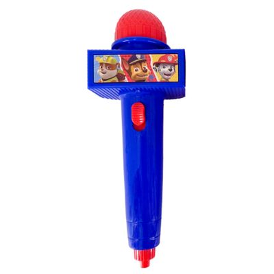 Microfone-Infantil-com-Eco-e-Luz---Azul---Patrulha-Canina---Toyng