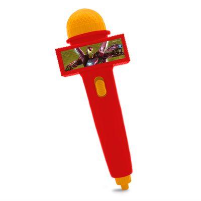 Microfone-Infantil-com-Eco-e-Luz---Vermelho---Disney---Marvel---Avengers---Iron-Man---Toyng