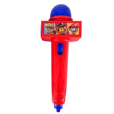 Microfone-Infantil-com-Eco-e-Luz---Vermelho---Patrulha-Canina---Toyng