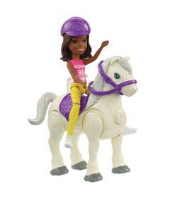 Mini-Boneca---Barbie---On-The-Go---Cavalo-Bege---Mattel
