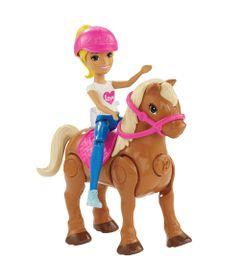 Mini-Boneca---Barbie---On-The-Go---Cavalo-Caramelo---Mattel