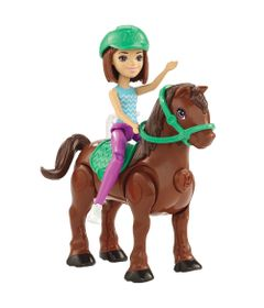 Mini-Boneca---Barbie---On-The-Go---Cavalo-Marrom---Mattel