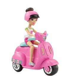 Mini-Boneca---Barbie---On-The-Go---Veiculo-Rosa---Mattel