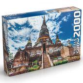 Quebra-Cabeca---2000-Pecas---Templo-Tailandes---Grow