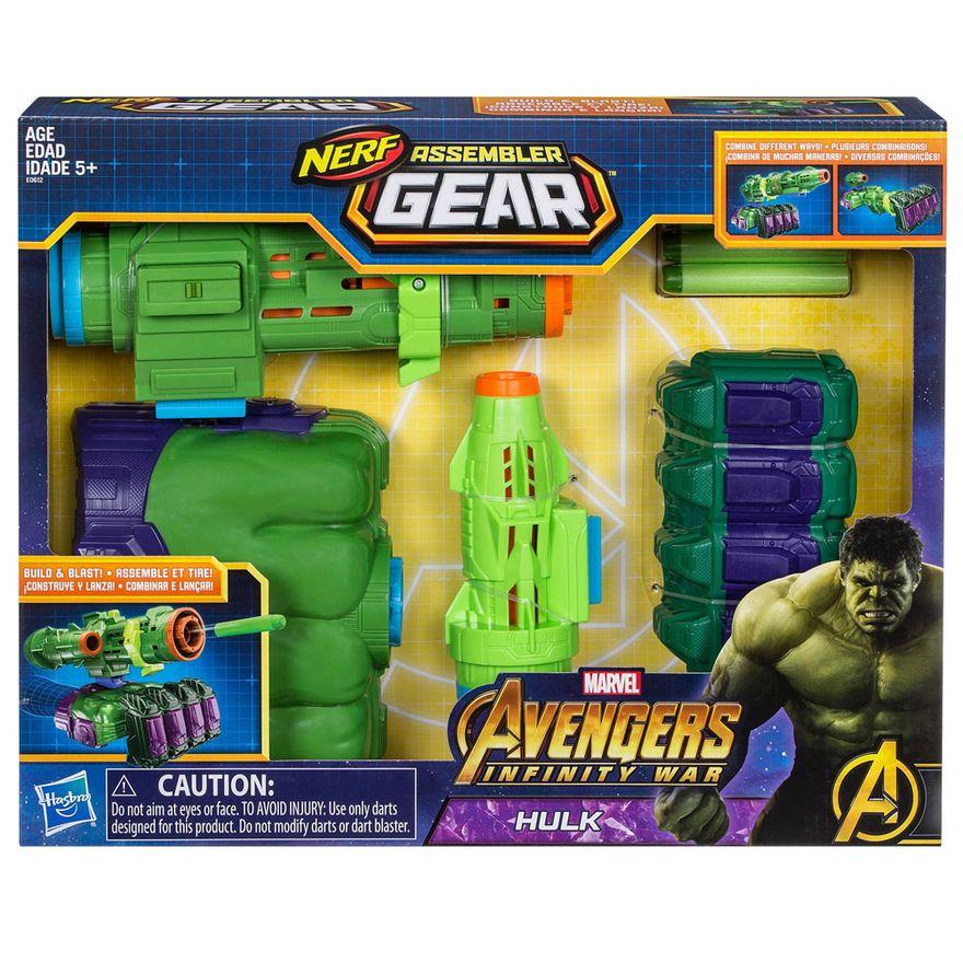 Lanca-Dardos---Nerf---Disney---Marvel---Avengers---Hulk---Hasbro