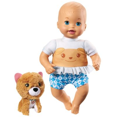 Boneca-Bebe---Little-Mommy---Pet-de-Pelucia---Cachorrinho---Mattel