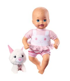 Boneca-Bebe---Little-Mommy---Pet-de-Pelucia---Coelhinho---Mattel