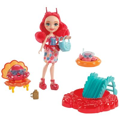 Boneca-Enchantimals---15-Cm---Cameo-Crab---Mattel