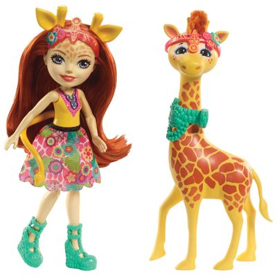 Boneca-Enchantimals---15-Cm---Gillian-e-Girafa---Mattel